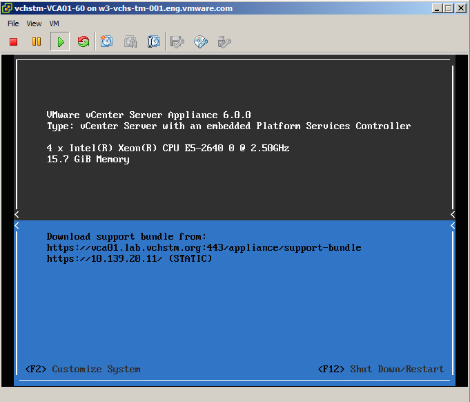 upgrading vcenter appliance 5.5 to 6.0