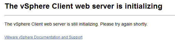 Error #1009 vSphere Web Client