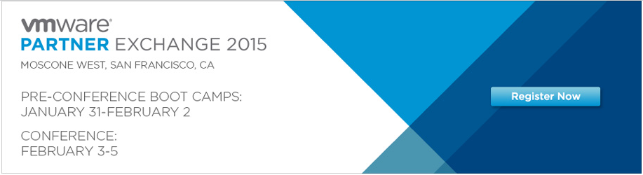 VMware Partner Exchange 2015