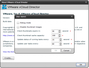 VMware vCloud Director - Hidden Uber Admin