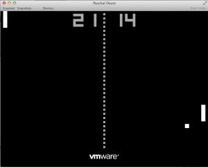VMware Fusion 3/4 - Hidden game of PONG