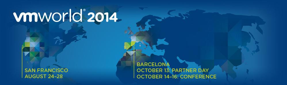 VMworld Barcelona 2014